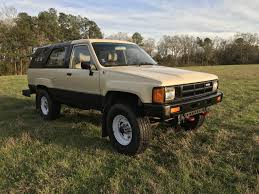 For Sale - 1985 Toyota 4Runner (22RE with factory SOLID AXLE ...
