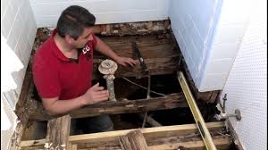 Repair Bathroom Floor How To Repair A Bathroom Floor Structure Youtube