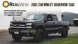 RealView - Leveled 2003 Chevy Silverado 1500 w/ 20