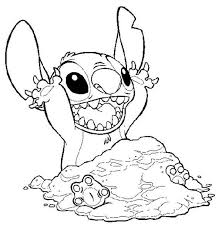29583026 Disney Stitch Coloring Pages Stitch Covering