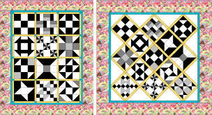 Breezy Beginner's Sampler Quilt - Quilting Gallery /Quilting Gallery & This is truly a Beginner's Quilt as the first 10 blocks are no more  complicated than creating half-square triangles. The remaining three blocks  up the ... Adamdwight.com