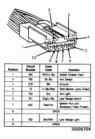 5WireFunctionChart_zps4b27d09f wiring diagram for 1994 ford ranger the wiring diagram on 1991 ford bronco radio wiring diagram