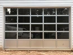 View Larger Image ArmRLite Aluminum Fullview Glass Garage Door