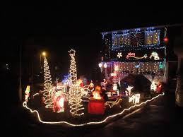 collection christmas decorated homes pictures homes decorated for