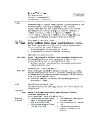 Resume Formats Samples How To Write A Simple Resume Format Samples ...