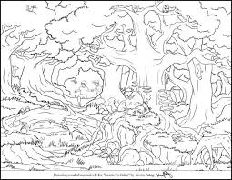 Coloring Pages Forest Animals Forest Animals Coloring Page Free Download