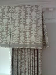 Inverted Pleat valance with typical return and pretty hem detail ...