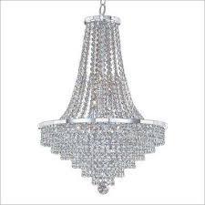 vista 9 light chrome and crystal incandescent chandelier