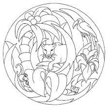 Mandala Da Colorare Per Bambini Scuola Infanzia Dw87 Pineglen