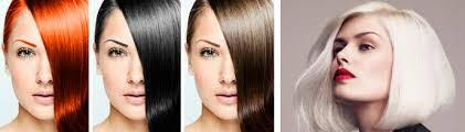 Выбор оттенка волос по типу кожи