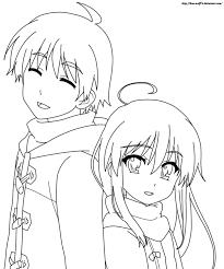 Lineart Anime Theivrgrouporg