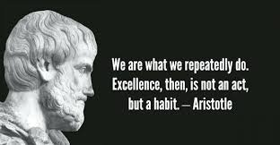 Aristotle Excellence Quote Impressive Aristotle Excellence Quote With F Happiness Is Activity In