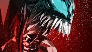Venom digital art poster 1600x900