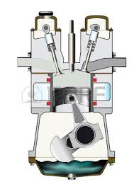 four stroke engine images stock pictures royalty four four stroke engine the induction stroke of a diesel engine one of a set