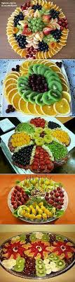 How To Decorate Fruit Tray Fruit trays Appetizer Pinterest Trays Food and Food art 73