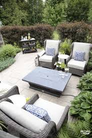 Outdoor furniture ideas Beautiful Outdoor Patio Ideas Patio Furniture And Backyard Decor outdoor patio firetable Setting For Four Outdoor Patio Ideas Patio Furniture And Backyard Decor Setting