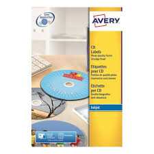 Avery Labels Dvd Avery Cd Dvd Labels Inkjet 2 Per Sheet Dia 117mm Photo Quality