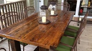 wood kitchen furniture. Love Reclaimed Wood Kitchen Table Silo Christmas Tree Farm Furniture