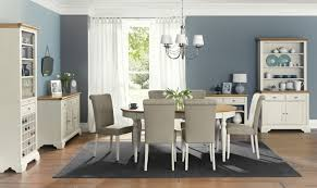 grey and white upholstered chairs. two tone dining room design idea present armless upholstered chairs set with curved back and oval grey white r