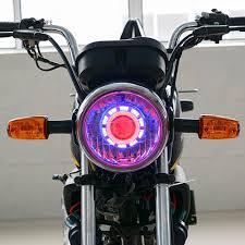 Đèn pha LED hình tròn thiên thần cho xe máy giảm chỉ còn 168,000 đ