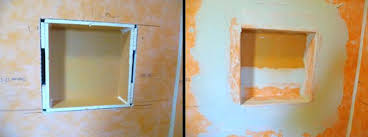 schluter niches after installing schluter niche shelf installing schluter niches