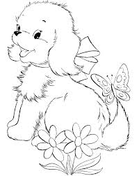 Regular Coloring Page Of Dogs G3029 Free Dog Coloring Pages Coloring