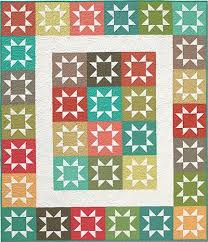 103 best star pattern quilts images on Pinterest | Blue quilts ... & Stash Stars Quilt Pattern - The Virginia Quilter Adamdwight.com