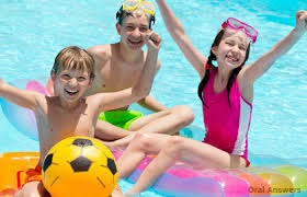 Practice Safety at the Swimming Pool for Healthy Teeth Oral Answers