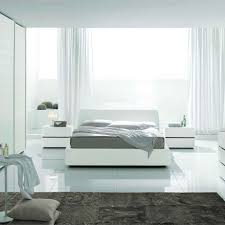 white modern bedroom sets. Bedroom : Enjoyable White Modern Design Ideas With Plain Ceramic Floor And Rectangle Ightstand Also Sets B