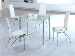round glass kitchen table and chairs small rectangular dining table advantages glass kitchen tables for small spaces best interior round glass dining table