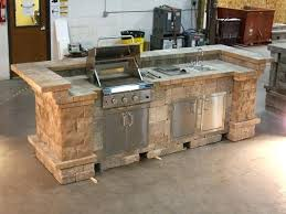 outdoor kitchens plans kitchen build concrete stone house cinder block free cabinet