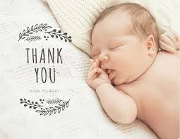 Baby Thankyou Baby Thank You Cards Mailed For You Postable