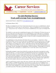 Resume Accomplishments Sample Accomplishments on resume in essential furthermore example sample 48