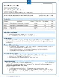 Resume Format For Job Interview Resume Format For Job Interview