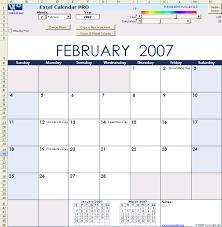 microsoft excel calendar excel calendar pro