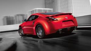 2018 nissan z convertible. unique 2018 2018 nissan 370z coupe rear profile in red in nissan z convertible
