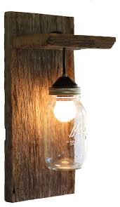 jar lighting fixtures. Wall Sconce Ideas:Wooden Mason Jar Lighting Fixtures Rustic Sconces Without Rope Details Decoration R
