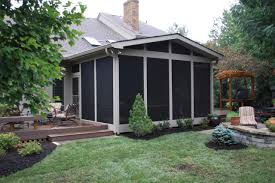 Screened In Porch Design remarkable american house style featuring white screened in porch 6964 by uwakikaiketsu.us