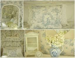 Blue Shabby Chic Bedroom Interesting Interiors Pinterest, Blue And ...