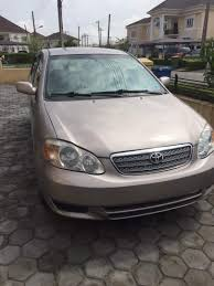 Clean Like New Toyota Corolla 2002 Model For Sale - Autos - Nigeria