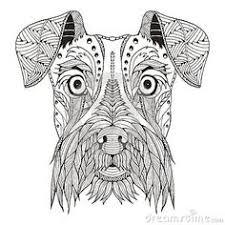 50 Beste Afbeeldingen Van Dog Zentangle In 2019 Hond Kunst