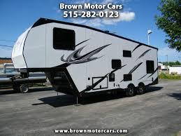 2020 atc custom 32ft aluminum 5th wheel toy hauler