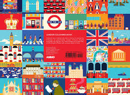 London Colouring Book Min Heo Gloria Fowler 9781623260453