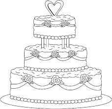 Printable Birthday Cake Coloring Pages Printable Birthday Cake