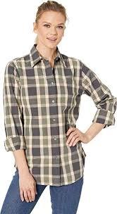 Filson Jacket Size Chart Filson Womens Hyland Shirt At Amazon Womens Clothing Store