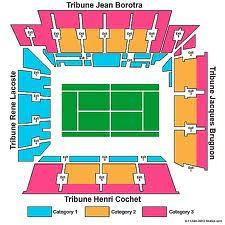 Indian Wells Tennis Seating Chart Court Philippe Chatrier Tennisticketnews