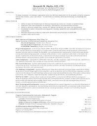 Senior Electrical Engineer Sample Resume Interesting Sample Of Resume For Electrical Engineer Orlandomovingco