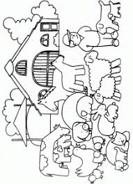 Farm Coloring Page Crafts And Worksheets For Preschooltoddler And