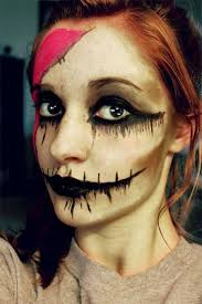 18 scary mouth teeth half face makeup looks ideas 2016