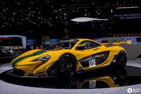 Geneva 2015: McLaren P1 GTR production model